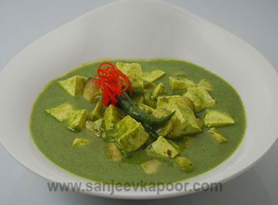 How to make paneer mushroom in palak gravy recipe by masterchef paneer mushroom in palak gravy forumfinder Image collections