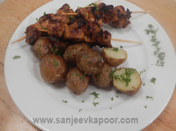 Paprika Chicken with Roasted Potatoes