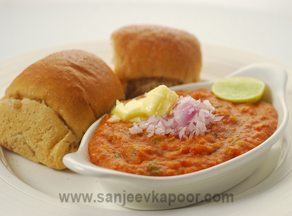 How to make pav bhaji recipe by masterchef sanjeev kapoor forumfinder Images