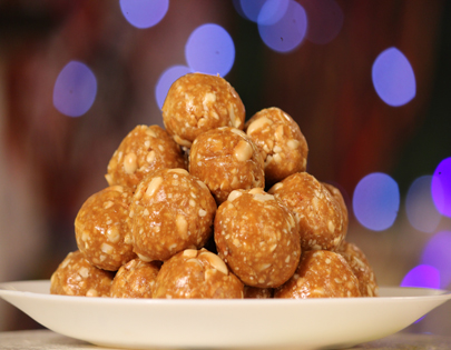 Peanut and Dry Fruit Laddoo