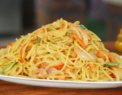 For More Recipes Related To Peanut Sesame Spaghetti Checkout With Pesto Chicken Veg Bolognaise Aglio Olio Seafood Moilee