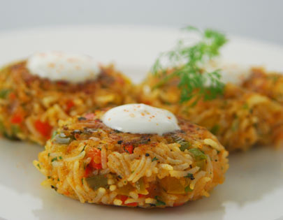 Tiffin time recipes chef sanjeev kapoor pepper potato tikki forumfinder Images