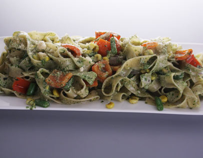 Pesto Vegegable Pasta