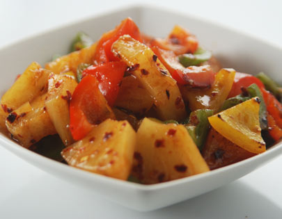 Pineapple Pepper Stir Fry