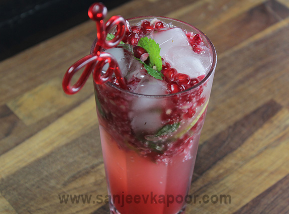 Pomegranate Chilli Drink
