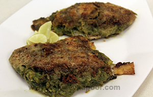 Prawn Stuffed Pomfret