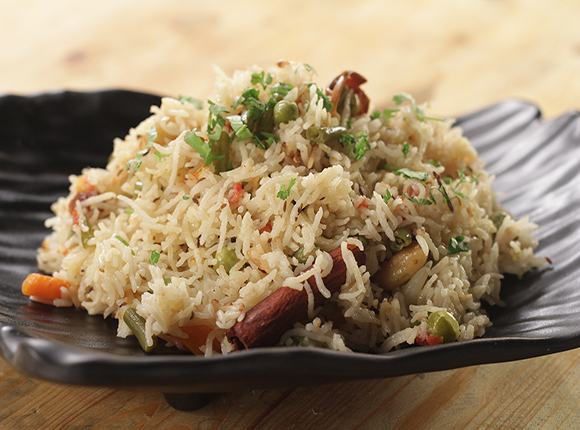 Pressure Cooker Vegetable Pulao - SK Khazana