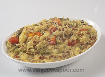 Pulao Khichdi Vegetarian Recipe Foodfood Sirf 30 Minute By Master Chef Sanjeev Kapoor