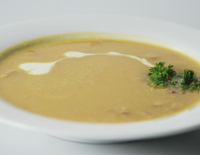 Pumpkin And Walnut Soup