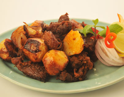 Punjabi Roasted Mutton