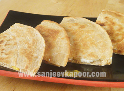 Chef rakesh sethi recipes chef sanjeev kapoor quesadillas with corn and mozzarella forumfinder Image collections