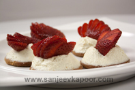 Quick Strawberry Cheese Cake