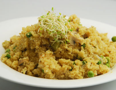 Quinoa and Vegetable Pulao