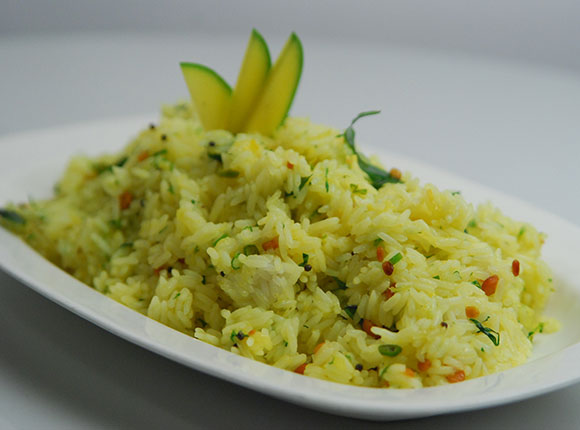 Raw Mango Rice-Cook Smart