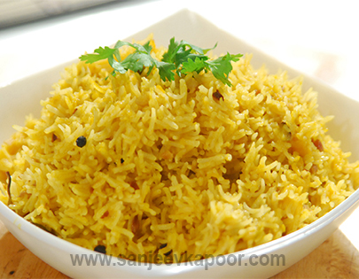how to make simple pulao without vegetables