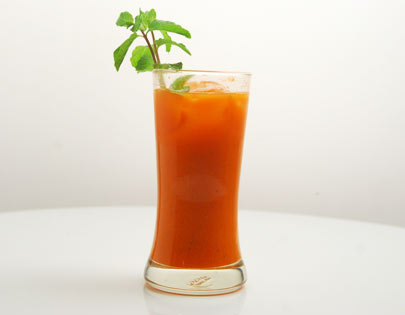 Refreshing Carrot Juice