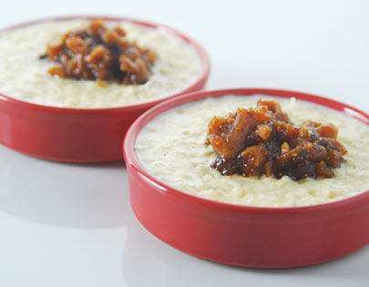 Rice Pudding With Figs And Dates