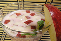 Rose Milk with Apple