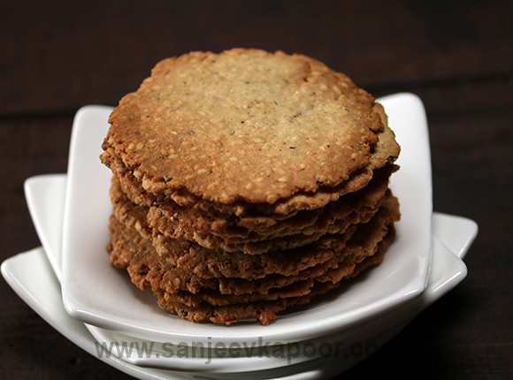 Rosemary and Sesame Crackers