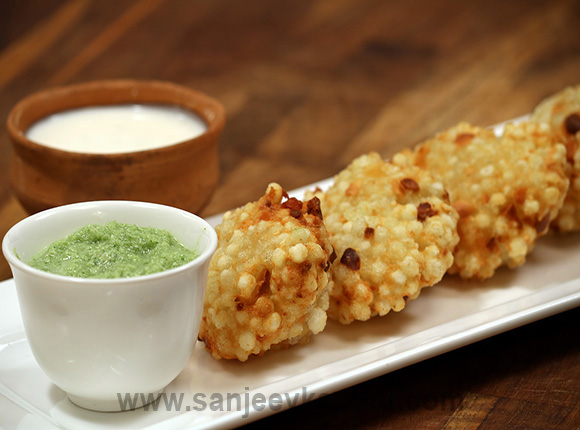 How to make sabudana vada recipe by masterchef sanjeev kapoor forumfinder Gallery