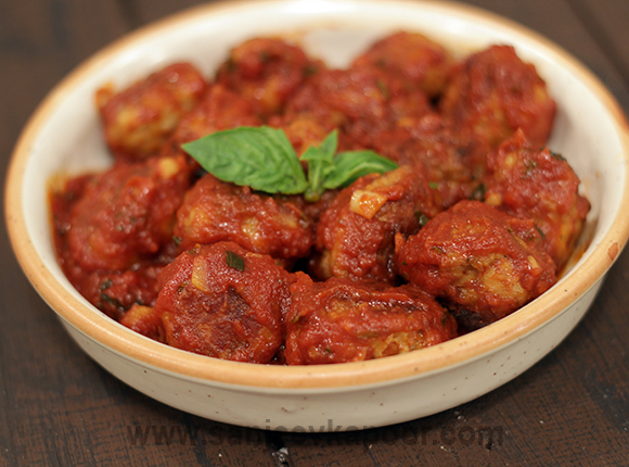 Saucy Meat Balls