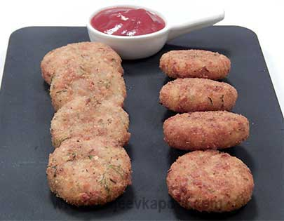Sausage and Potato Fritters
