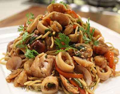 Seafood Chowmein