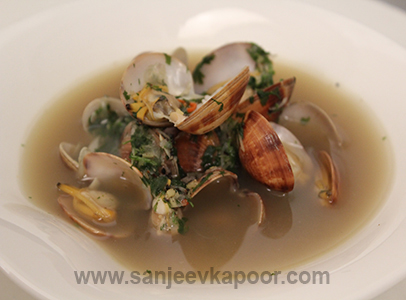 Seafood Soup with Chilli Ginger