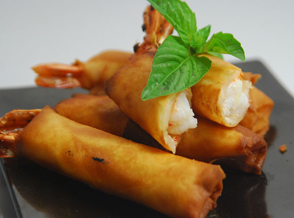Shrimp Spring Rolls-Cook Smart