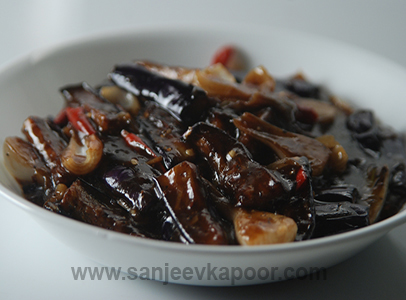 Sichuan Eggplant With Black Bean Sauce - A sweet and spicy chinese ...