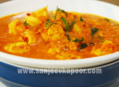 how to make simple prawn curry recipe by masterchef