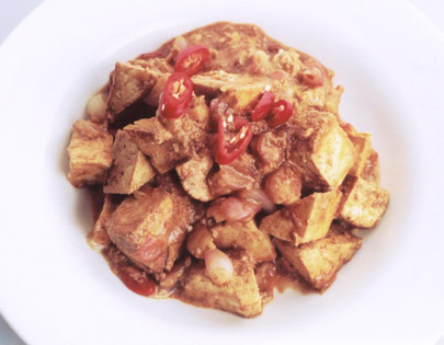 Sizzling Singapore Chilli Bean Curd