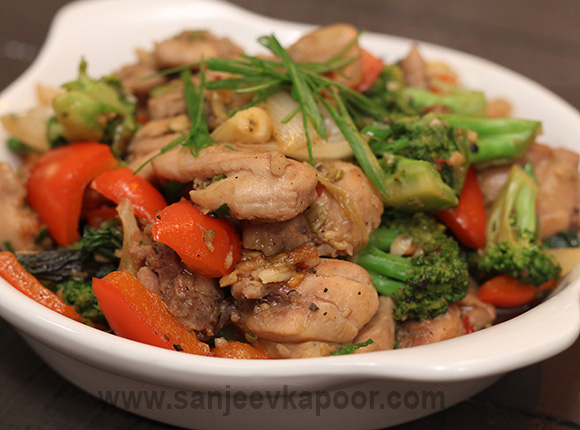 Smokey Chicken Stir Fry