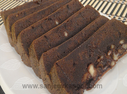 Recipe of chocolate cake in microwave oven by sanjeev kapoor
