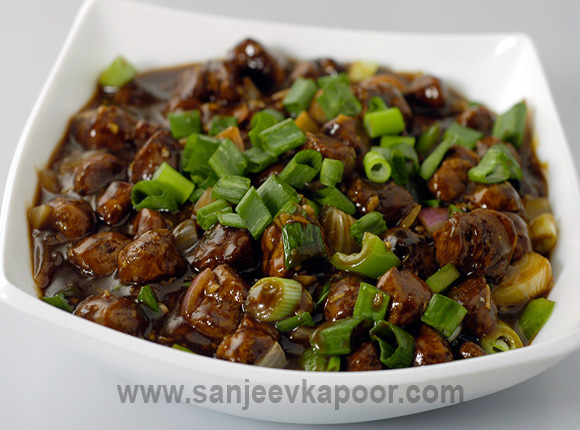 How to make soya chunks manchurian recipe by masterchef sanjeev kapoor for more recipes related to soya chunks manchurian checkout chilli soya chunks you can also find more main course vegetarian recipes like carrot methi forumfinder Gallery