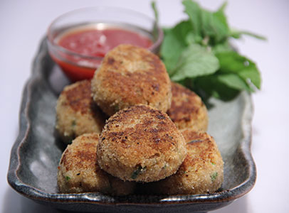 Soya South Indian Cutlet