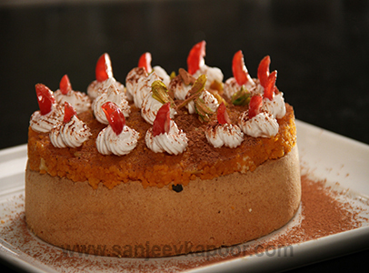 Lemon Chiffon Cake Recipe By Sanjeev Kapoor