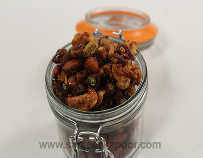 Spiced Nuts - Diwali Special