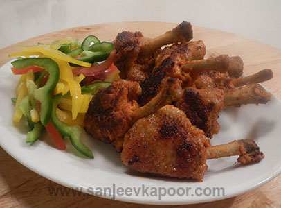 Spicy Chicken Lollipops