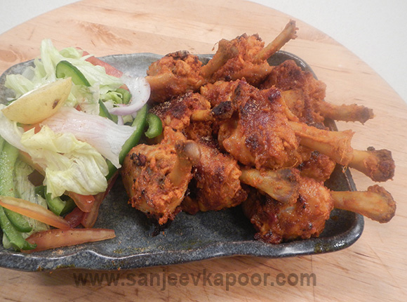Spicy Chicken Lollypops