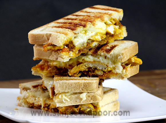Spicy Chicken and Cheese Sandwich