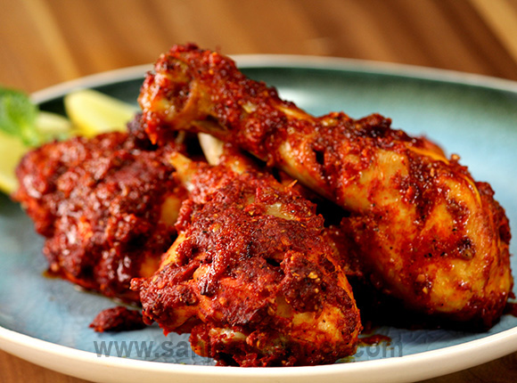 Spicy Grilled Chicken Drumsticks