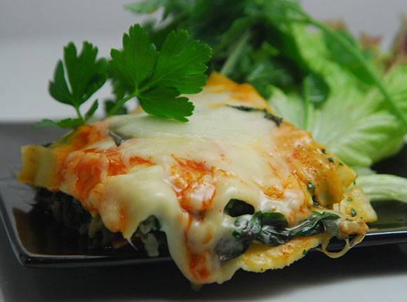 Spinach Lasagna-Cook Smart