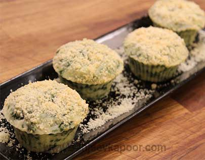Spinach Parmesan Muffin