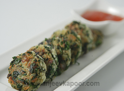 Spinach Rice And Olive Balls