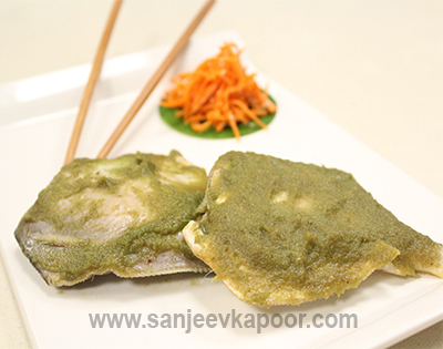 Steamed Pomfret with Lemongrass