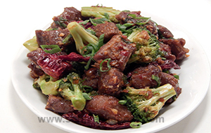 Stir Fried Lamb with Broccoli