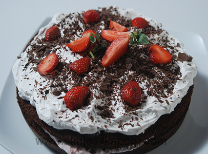 Black Forest Cake Recipe By Sanjeev Kapoor