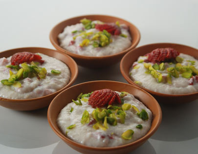 Strawberry Ki Phirni