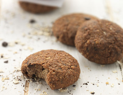 Sugar Free Oats And Chocolate Cookies
